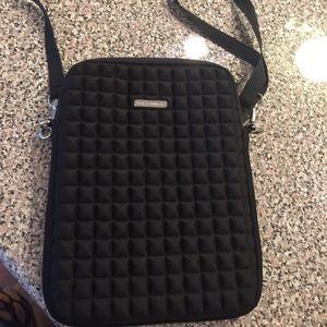 Rebecca Minkoff Black Tablet Case Bag EUC
